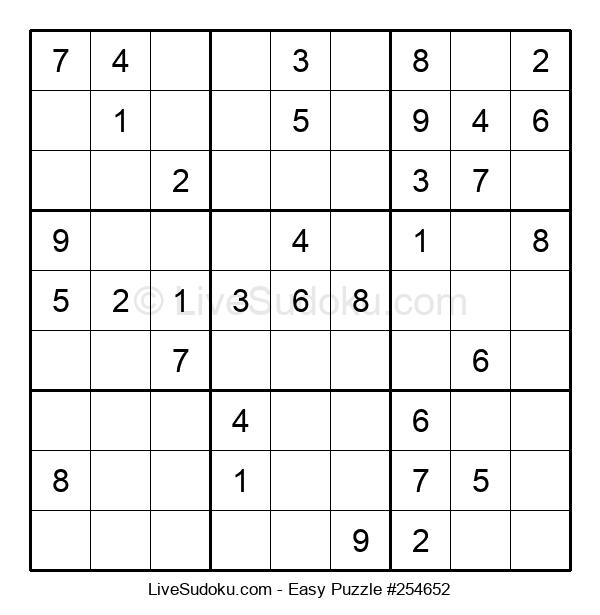 Beginners Puzzle #254652