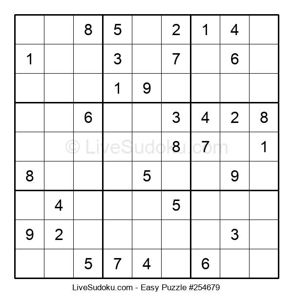 Beginners Puzzle #254679