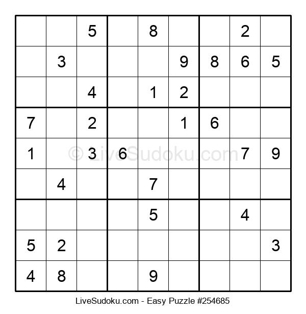 Beginners Puzzle #254685