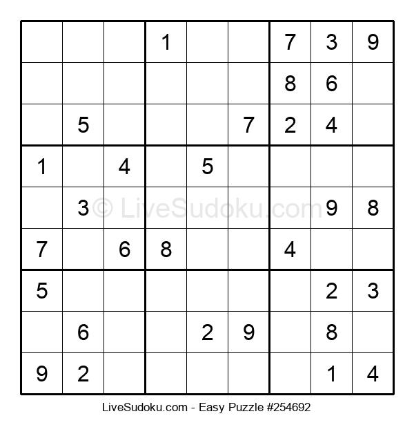Beginners Puzzle #254692
