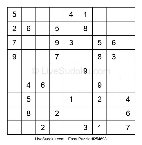 Beginners Puzzle #254698