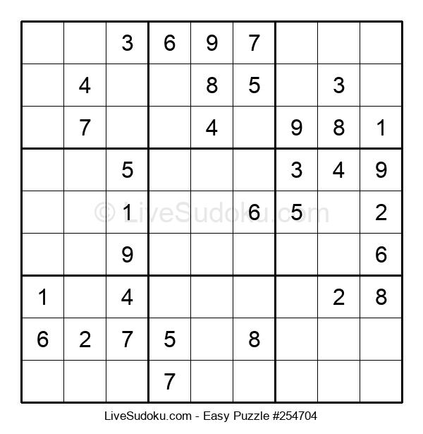 Beginners Puzzle #254704