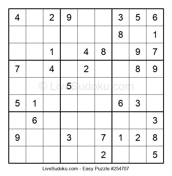 Beginners Puzzle #254707