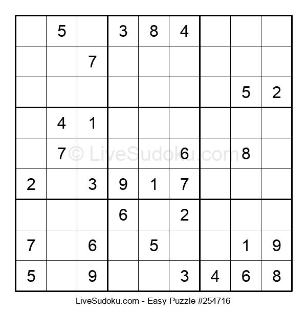 Beginners Puzzle #254716