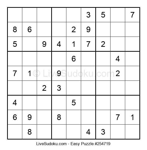 Beginners Puzzle #254719