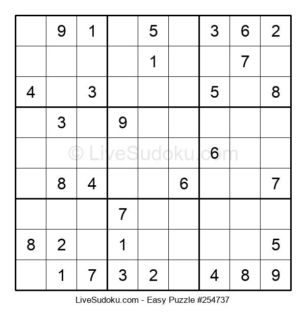 Beginners Puzzle #254737