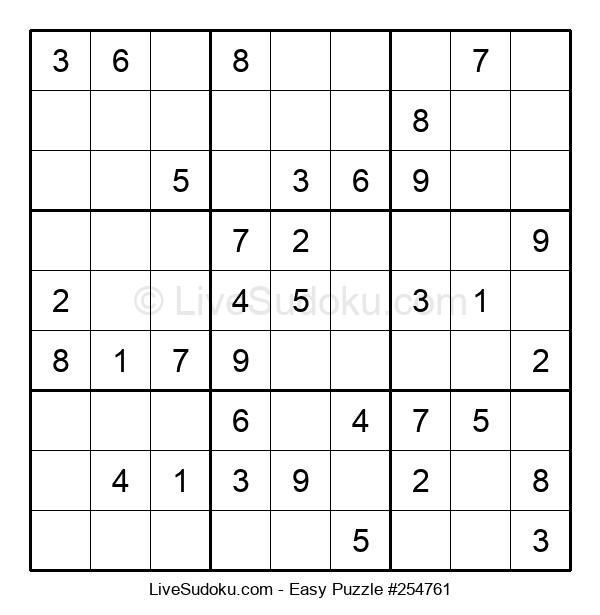 Beginners Puzzle #254761
