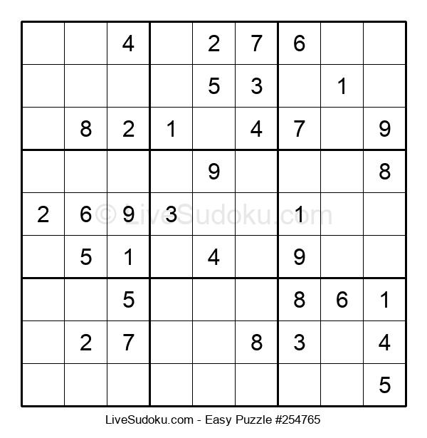 Beginners Puzzle #254765