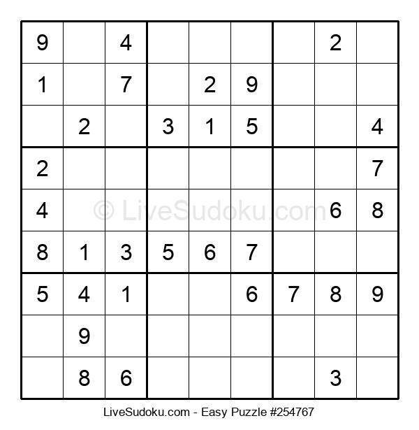 Beginners Puzzle #254767