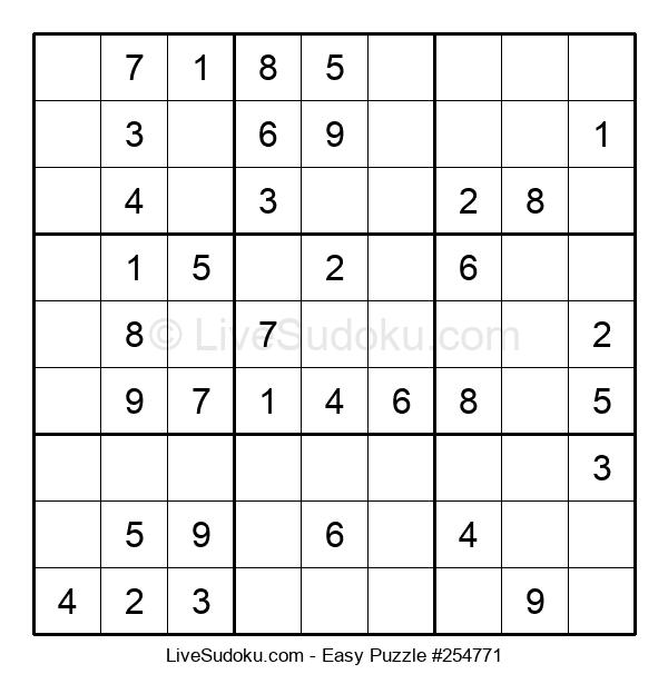 Beginners Puzzle #254771