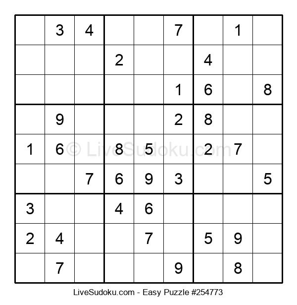 Beginners Puzzle #254773