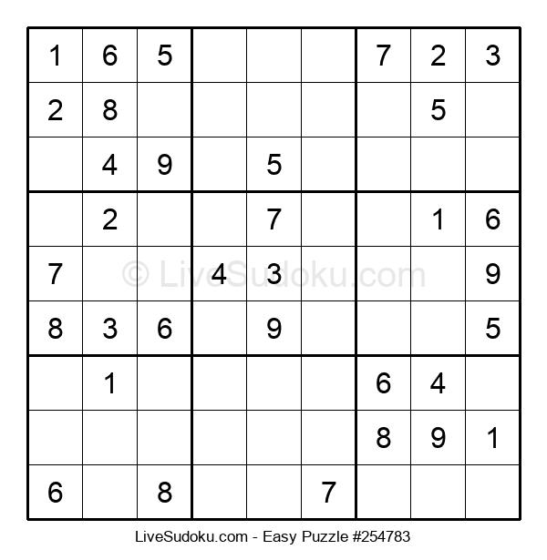 Beginners Puzzle #254783