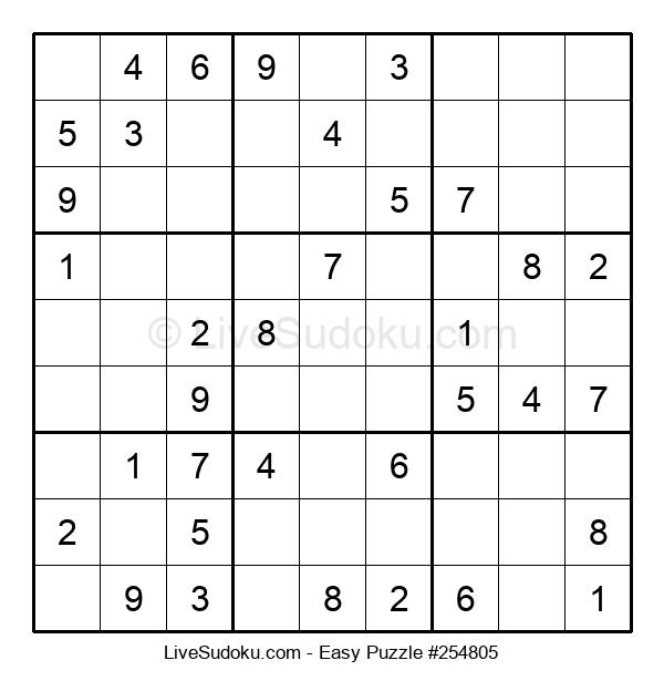 Beginners Puzzle #254805