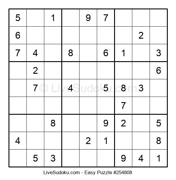 Beginners Puzzle #254808