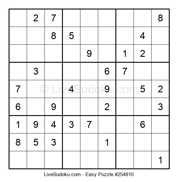 Beginners Puzzle #254810