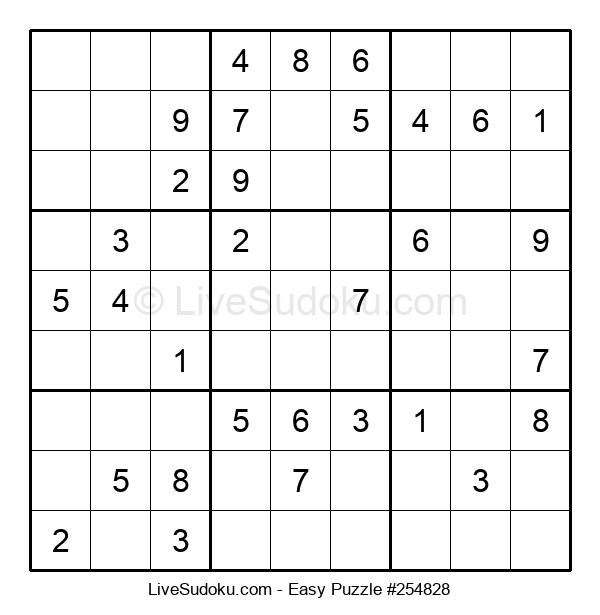 Beginners Puzzle #254828