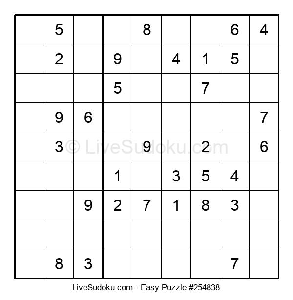 Beginners Puzzle #254838