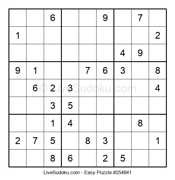 Beginners Puzzle #254841