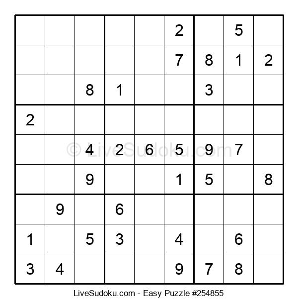 Beginners Puzzle #254855