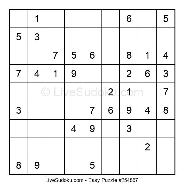 Beginners Puzzle #254867
