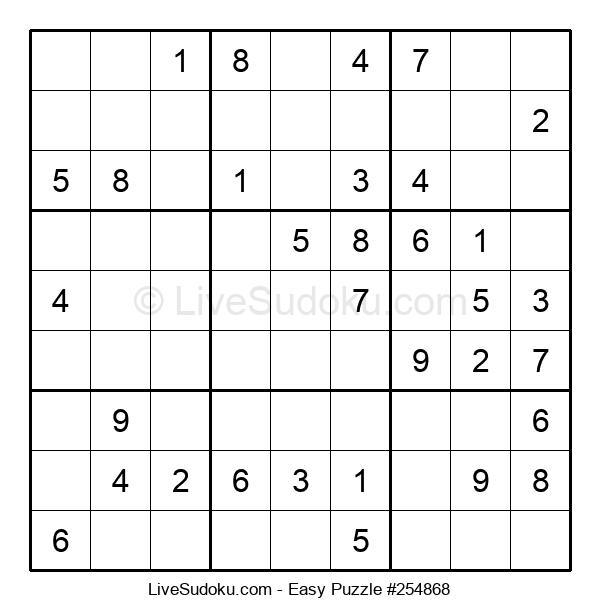 Beginners Puzzle #254868