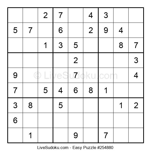 Beginners Puzzle #254880