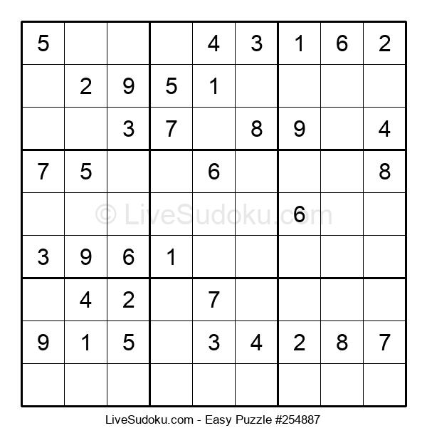 Beginners Puzzle #254887