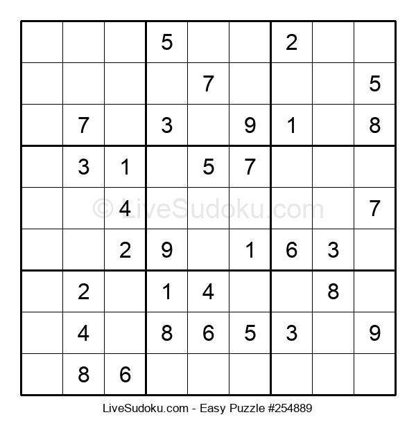 Beginners Puzzle #254889