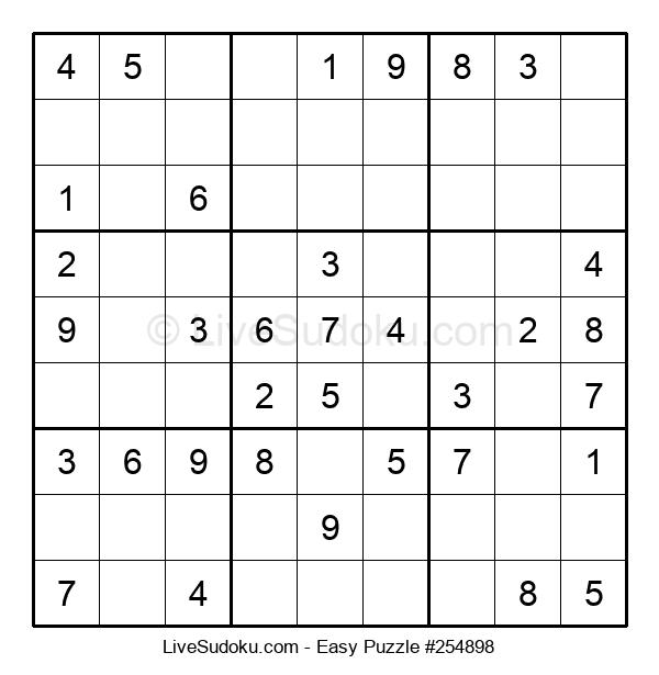 Beginners Puzzle #254898