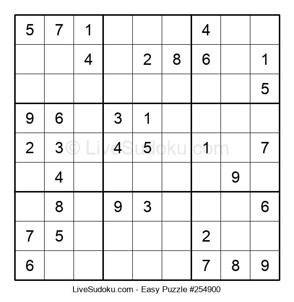Beginners Puzzle #254900