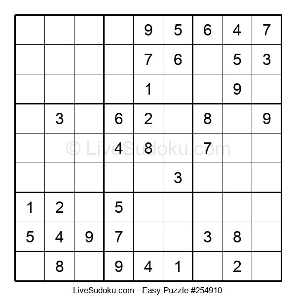 Beginners Puzzle #254910
