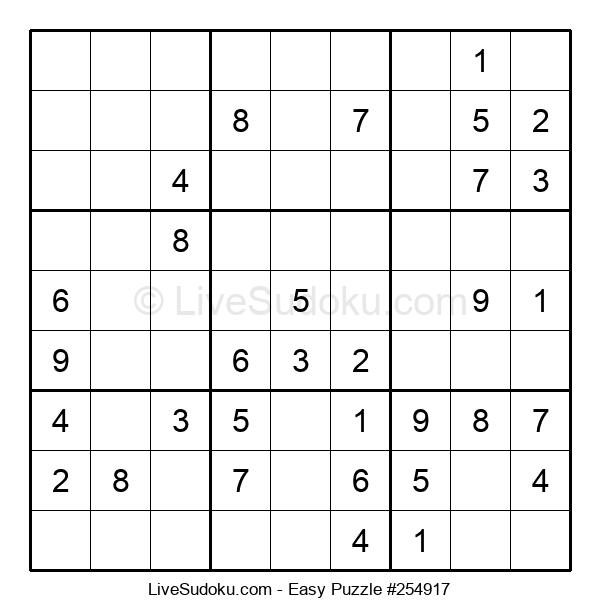 Beginners Puzzle #254917