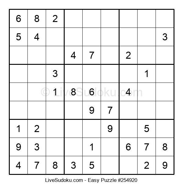 Beginners Puzzle #254920