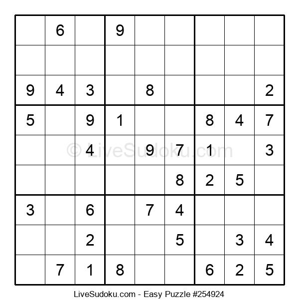 Beginners Puzzle #254924