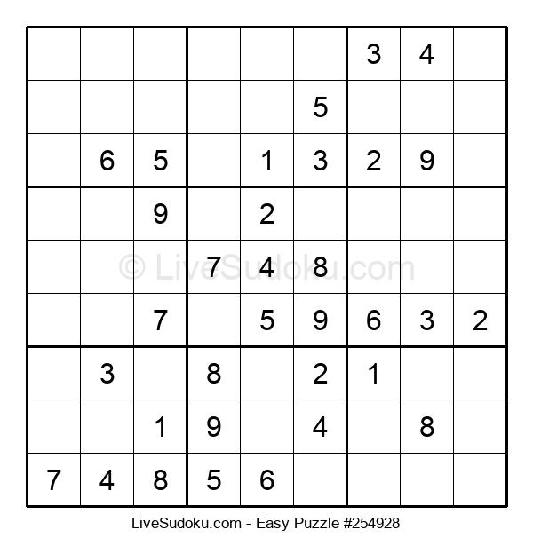 Beginners Puzzle #254928