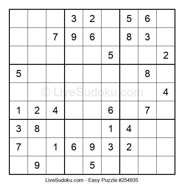 Beginners Puzzle #254935