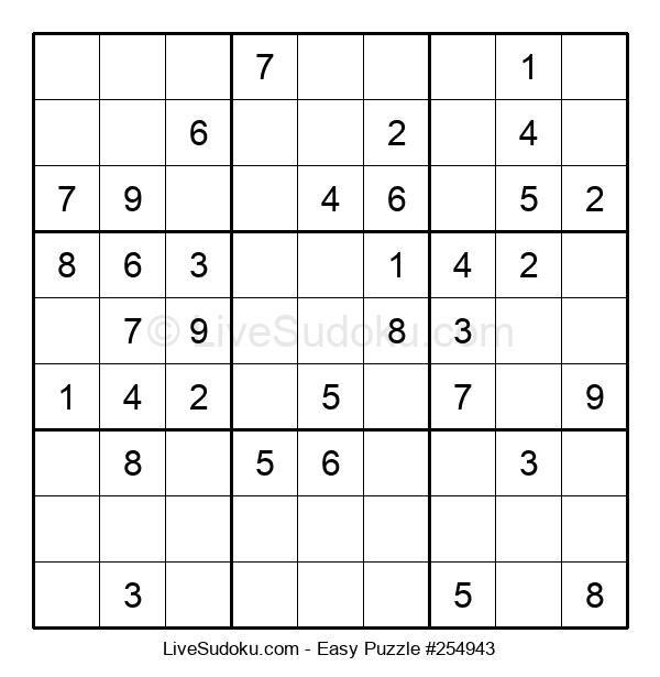 Beginners Puzzle #254943