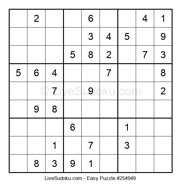 Beginners Puzzle #254949