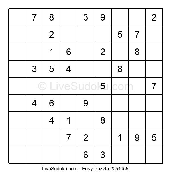 Beginners Puzzle #254955