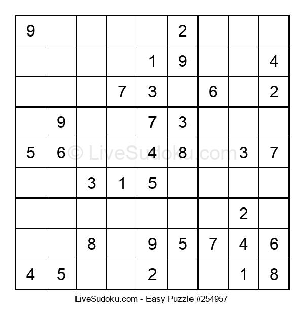 Beginners Puzzle #254957