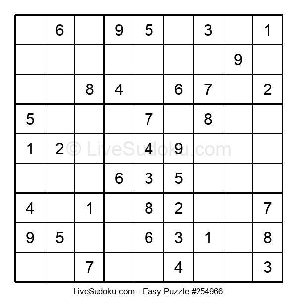 Beginners Puzzle #254966