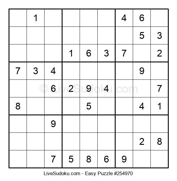 Beginners Puzzle #254970