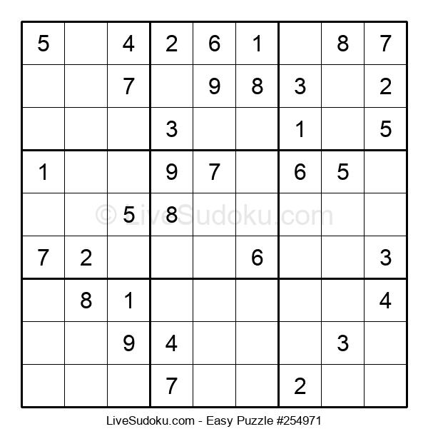Beginners Puzzle #254971