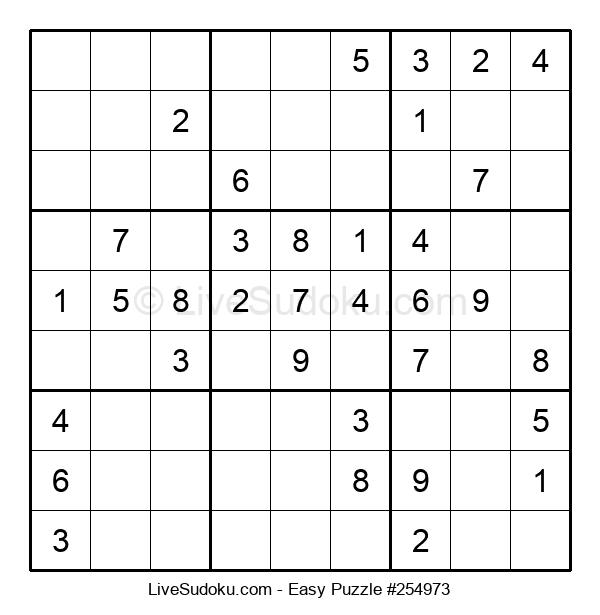 Beginners Puzzle #254973