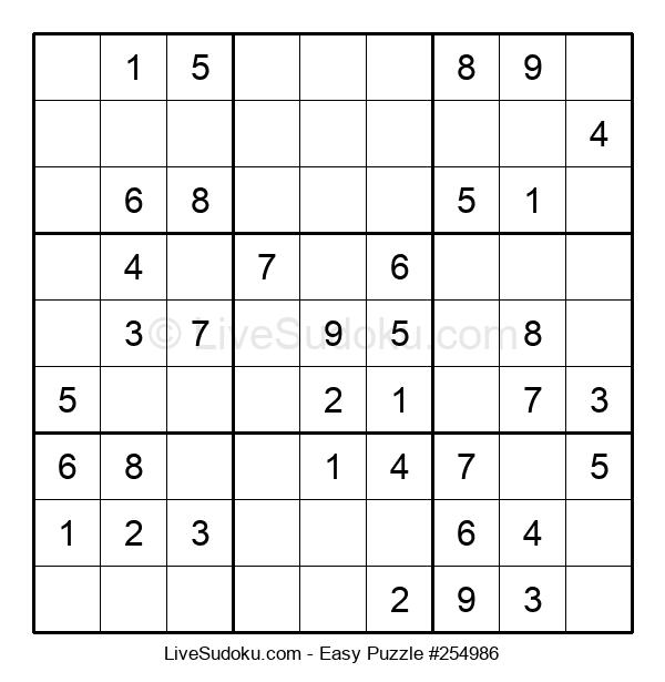 Beginners Puzzle #254986