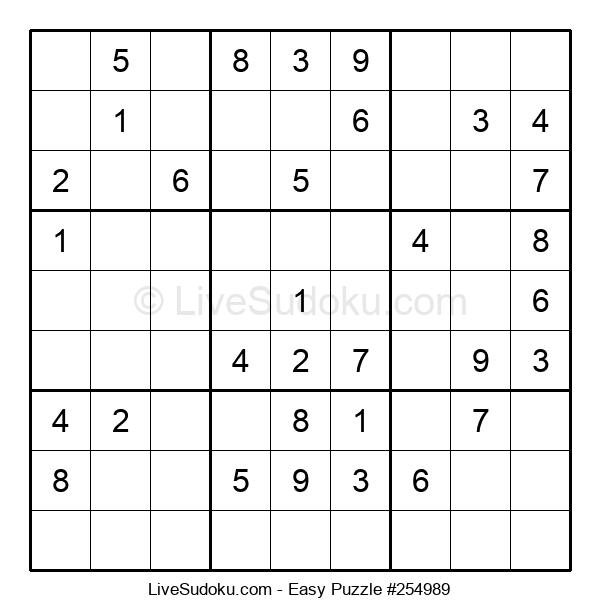 Beginners Puzzle #254989