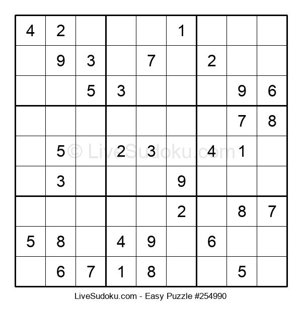 Beginners Puzzle #254990
