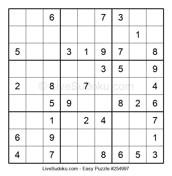 Beginners Puzzle #254997