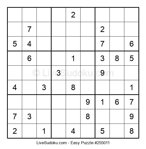 Beginners Puzzle #255011