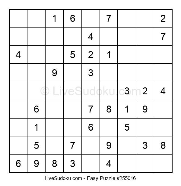 Beginners Puzzle #255016